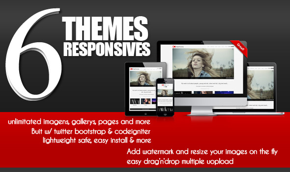 CodeCanyon ClipChroma The Photography Website Solution 3362918
