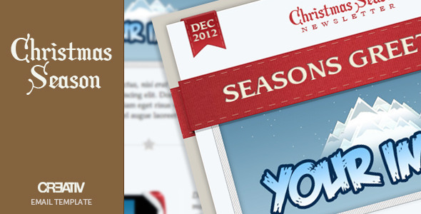 ThemeForest Christmas Season Email Template 762003