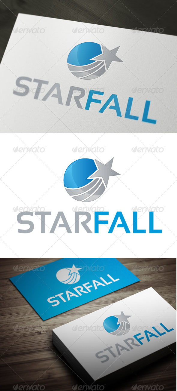 GraphicRiver Star Fall 3363617