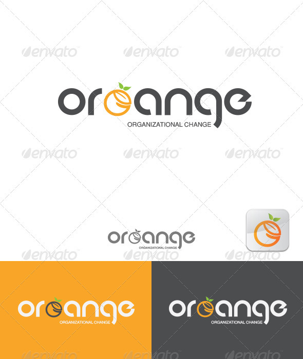 GraphicRiver ORGANGE Organizational Change 3356745