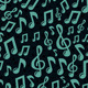Seamless Pattern with Music Notes - GraphicRiver Item for Sale