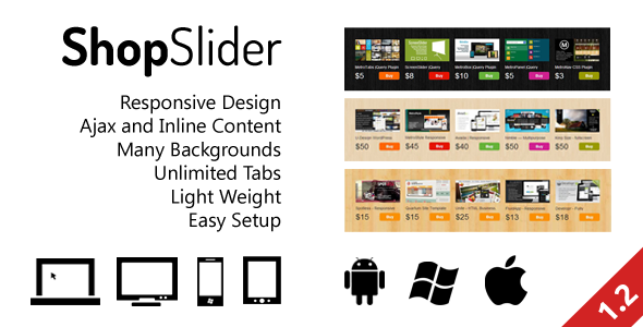 CodeCanyon ShopSlider Responsive Shop Slider with Tab 3217405