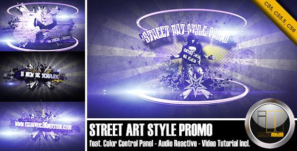 VideoHive Street Art Style Promo 3364286