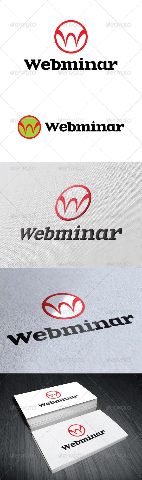 Webminar Logo Template