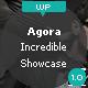 Agora - The incredible showcase theme