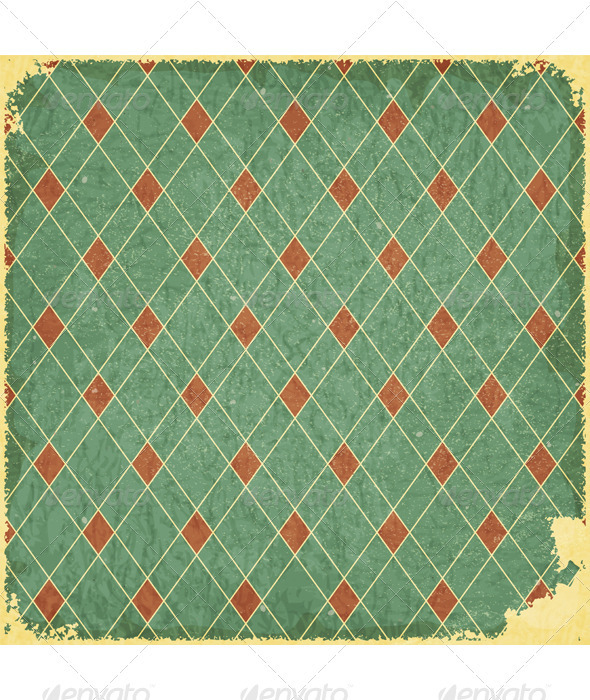 GraphicRiver Grunge blue checkered background 3364716