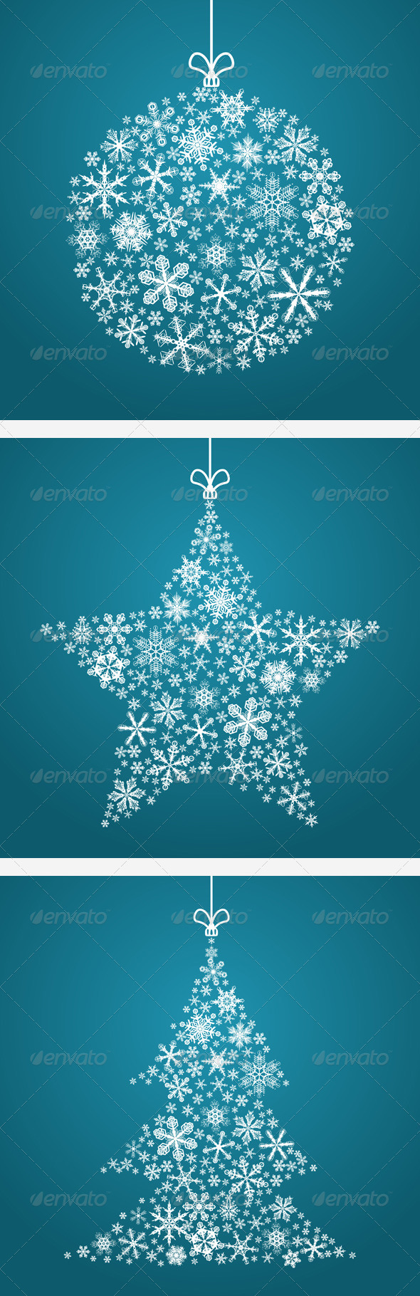 GraphicRiver 3 Christmas Backgrounds 3364939