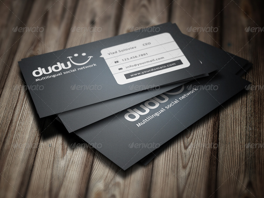 Dudu Business Card