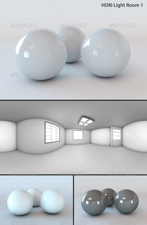 3DOcean HDRi Light Room 1 3365356