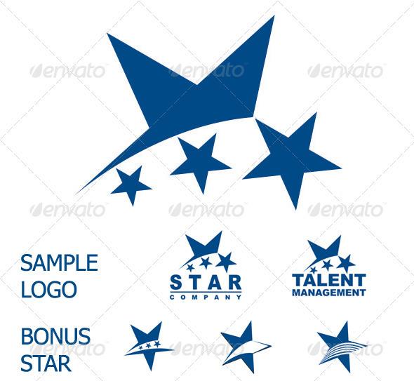 GraphicRiver Star Logo 3264665
