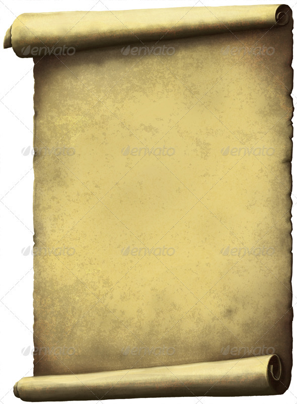 Old Scroll paper - Miscellaneous Backgrounds