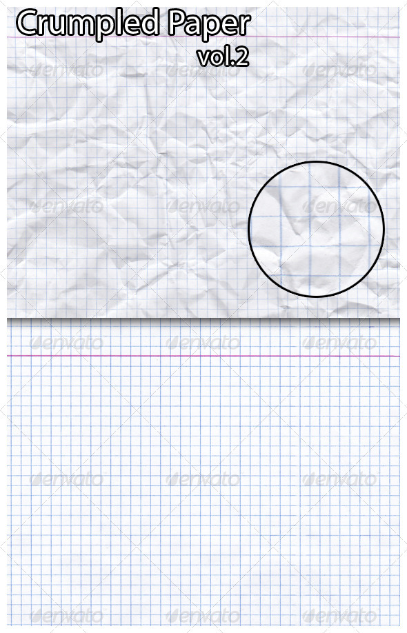 GraphicRiver Crumpled Paper 3366198