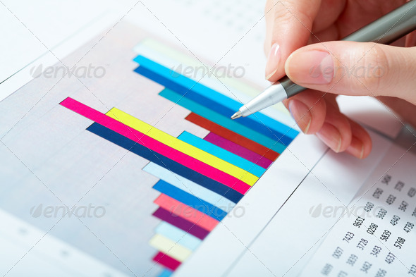Graph - Stock Photo - Images