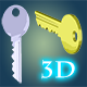 3D Animated Key - ActiveDen Item for Sale