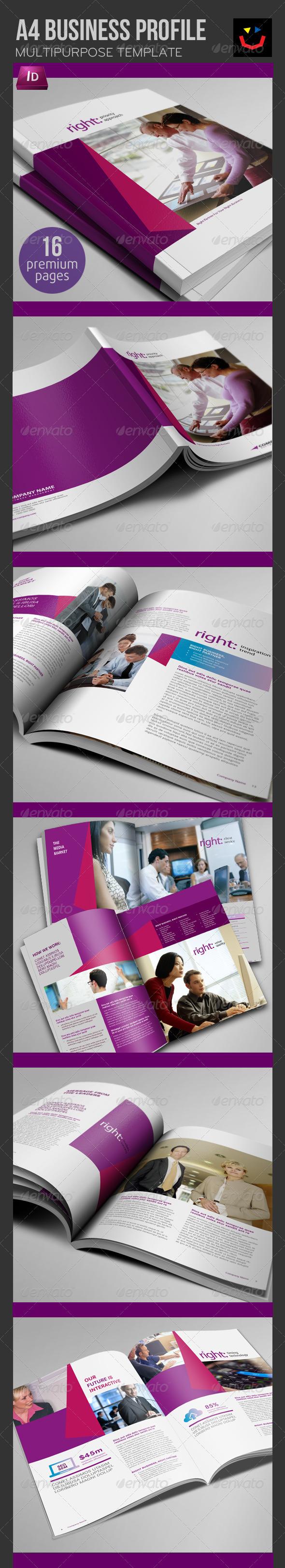 GraphicRiver Business Profile Brochure 3366696