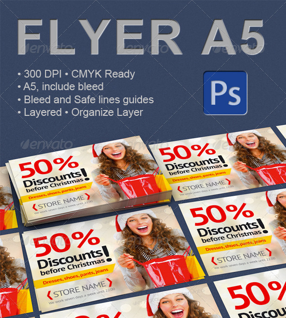 GraphicRiver Discounts before Christmas 3366699