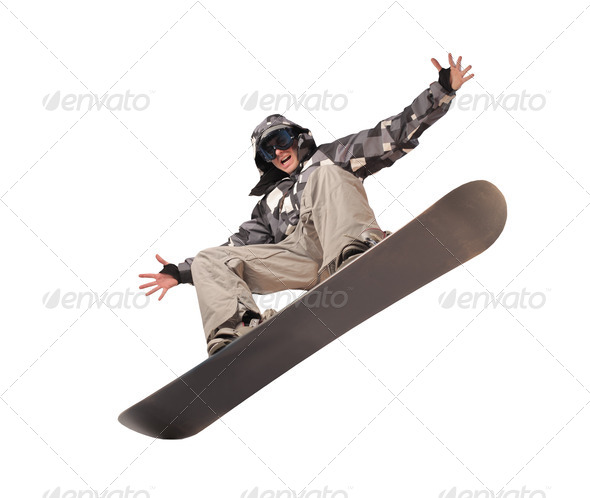 Snowboarder - Stock Photo - Images