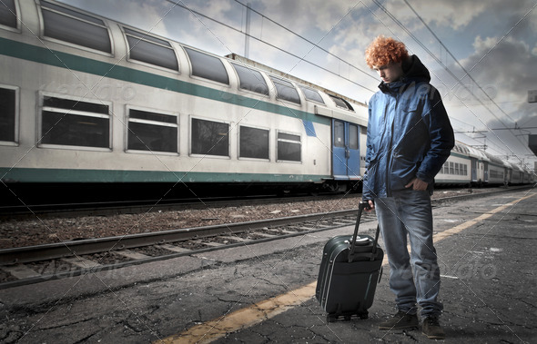 First Interrail - Stock Photo - Images