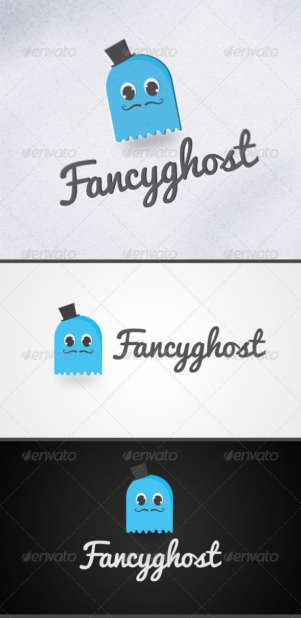 GraphicRiver Fancy Ghost Logo 3270440