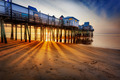 Sun rays on sand, Old Orchard Beach - PhotoDune Item for Sale
