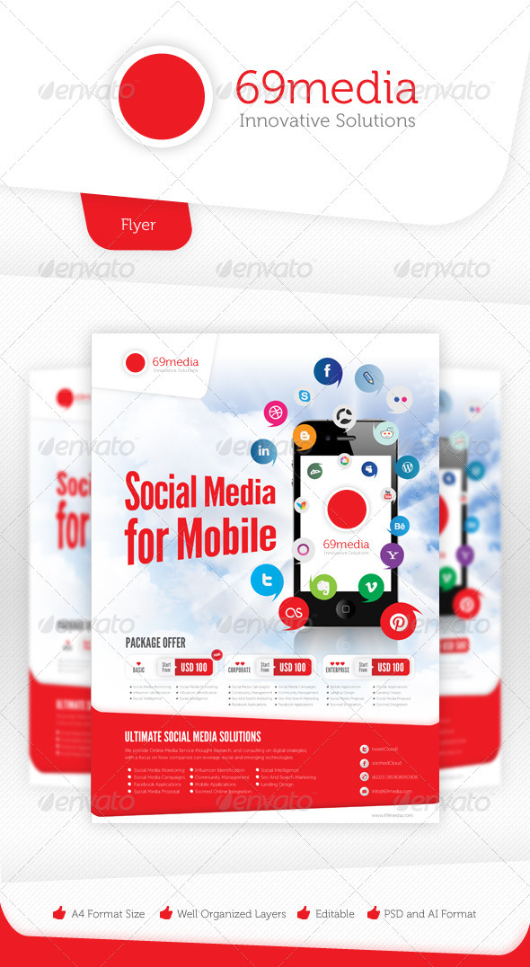 GraphicRiver Social Media Flyer Vol.4 3315167