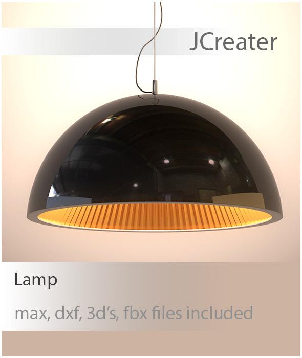 3DOcean Realistic Lamp 3367954