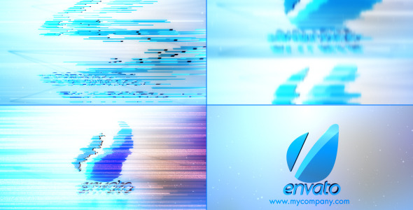 After Effects Project - VideoHive Clean Corporate Glitch 3368412