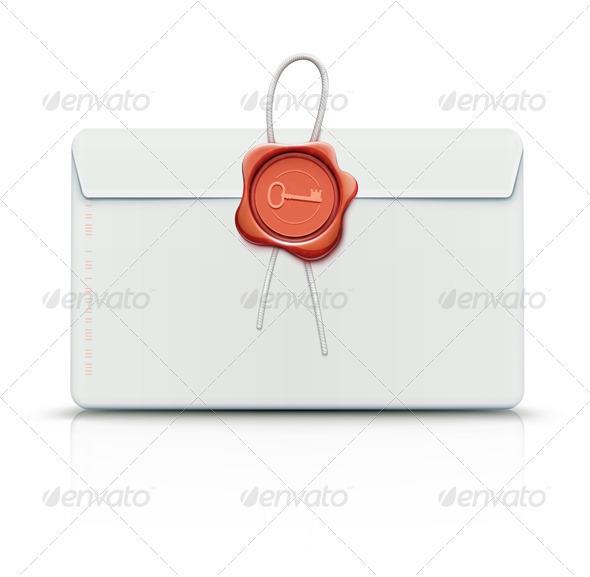 GraphicRiver Retro envelope 3368605
