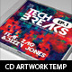 Tech Breaks CD Artwork PSD Template