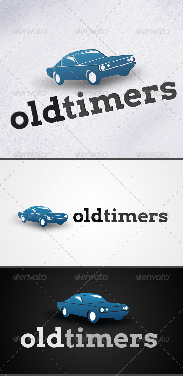 GraphicRiver Old Timers Car Logo 3276232