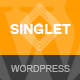 Singlet | One Page Responsive WordPress Theme