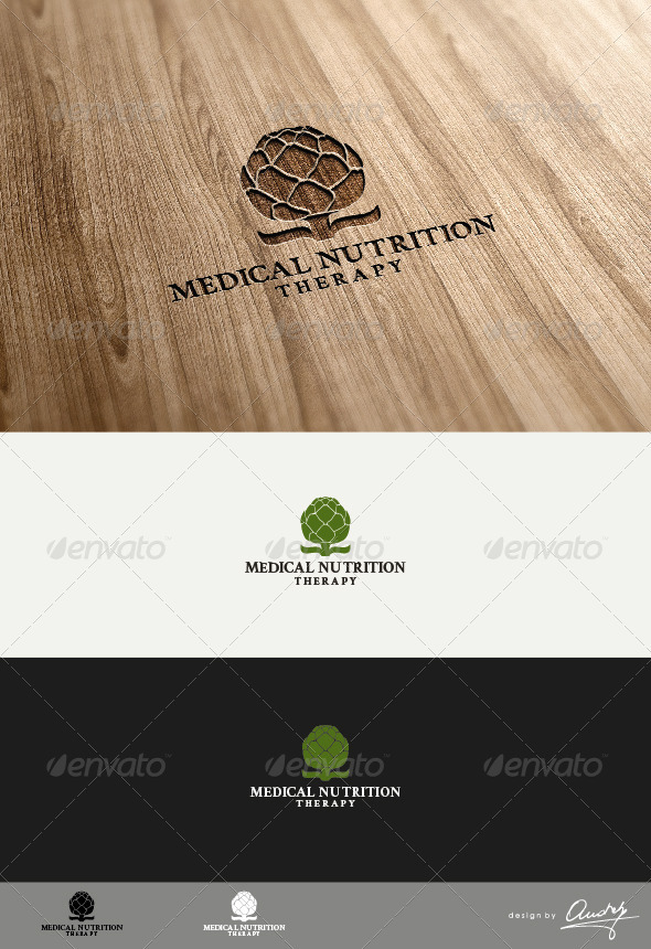 Medical Nutrition Logo Template - Nature Logo Templates