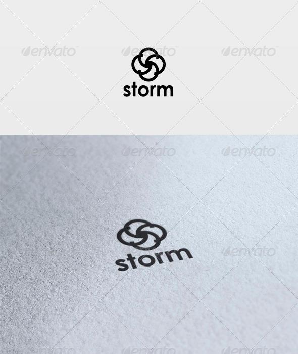 GraphicRiver Storm Logo 3370190