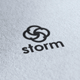 Storm Logo - GraphicRiver Item for Sale
