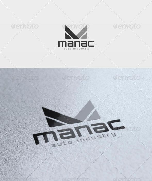 GraphicRiver Manac Logo 3370262