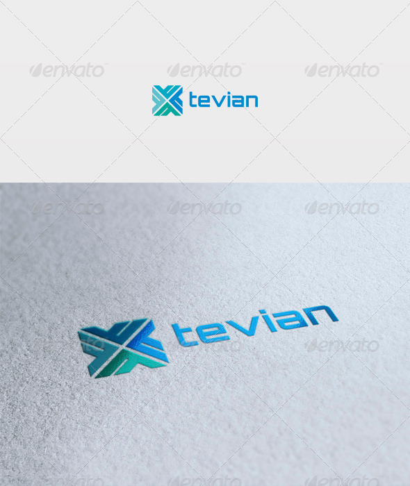 Tevian Logo - Vector Abstract