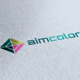 Aim Color Logo - GraphicRiver Item for Sale