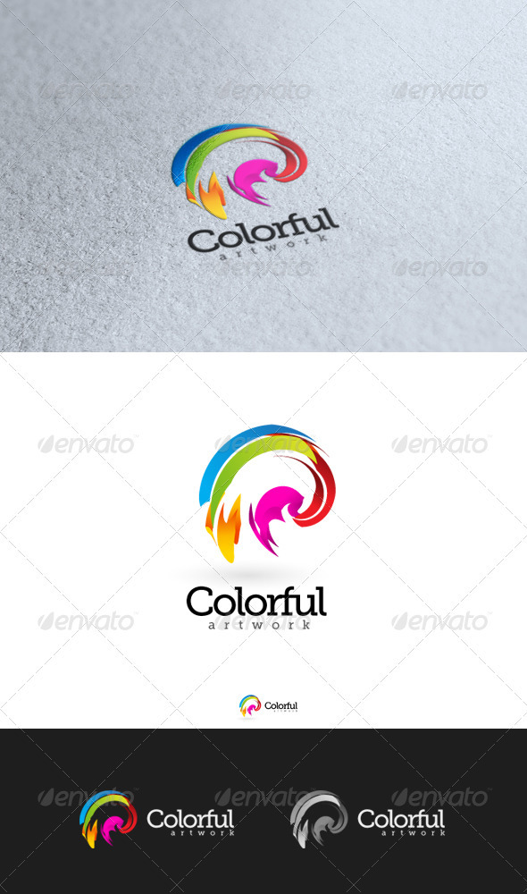 GraphicRiver Colorful Artwork 4 3370343