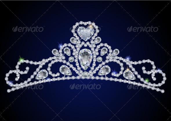 GraphicRiver Diamond tiara 3370995