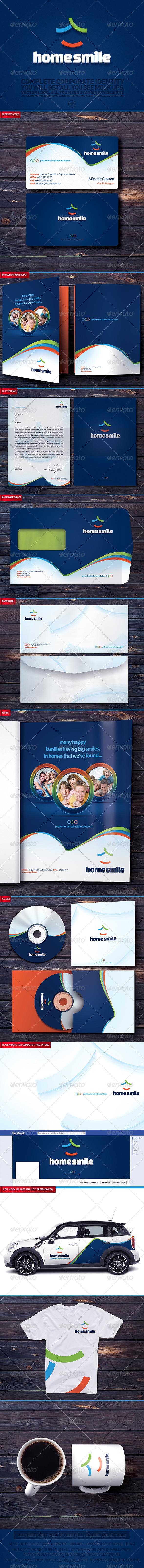 GraphicRiver Home Smile Corporate Identity v14 3370996