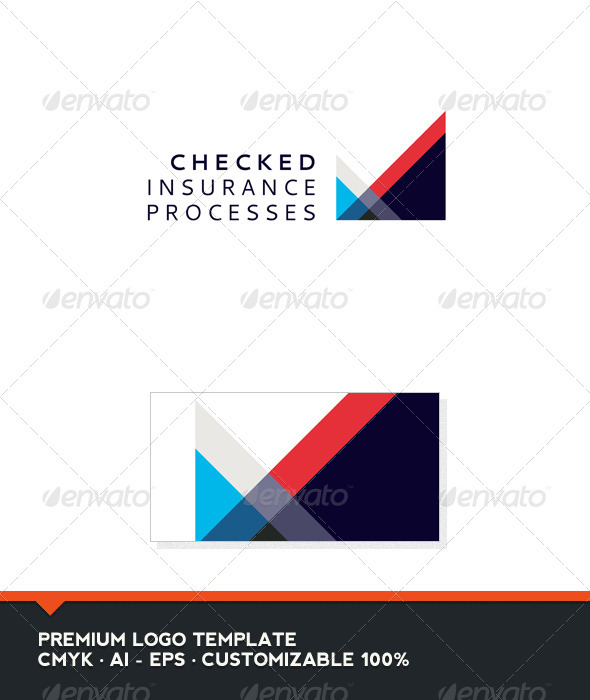 GraphicRiver Abstract and Check Logo Template 3372012