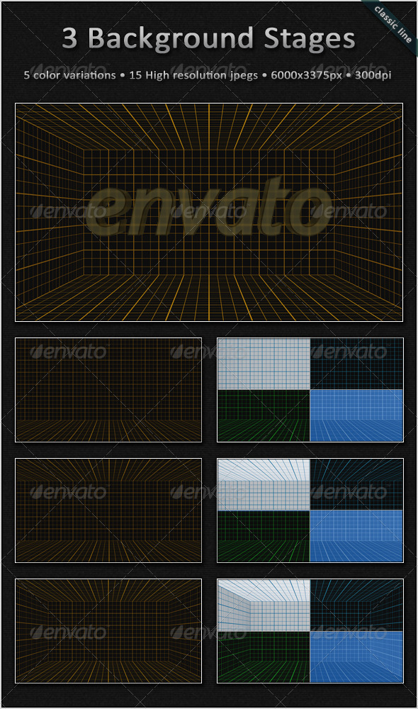 GraphicRiver Blueprint Background Stages 3372372