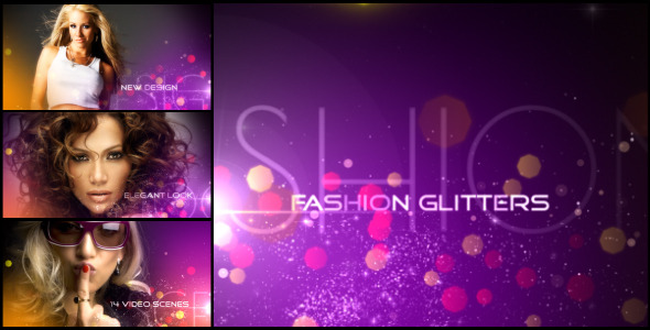 After Effects Project - VideoHive Fashion Glitters 3372382