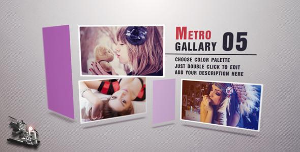 VideoHive Metro Gallery 3372388