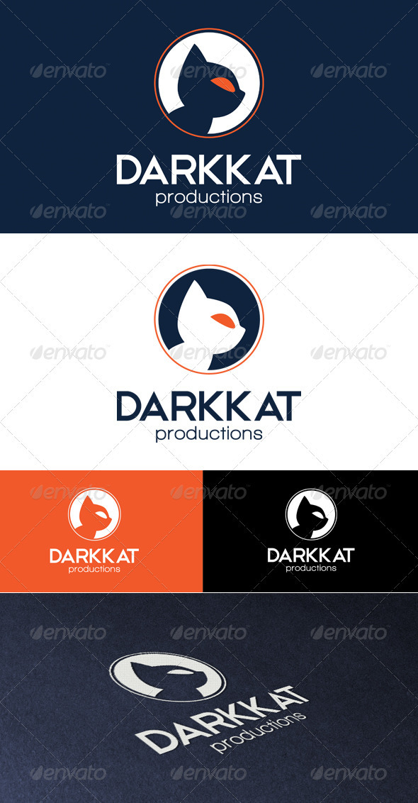 GraphicRiver Darkkat Productions Logo 3337708