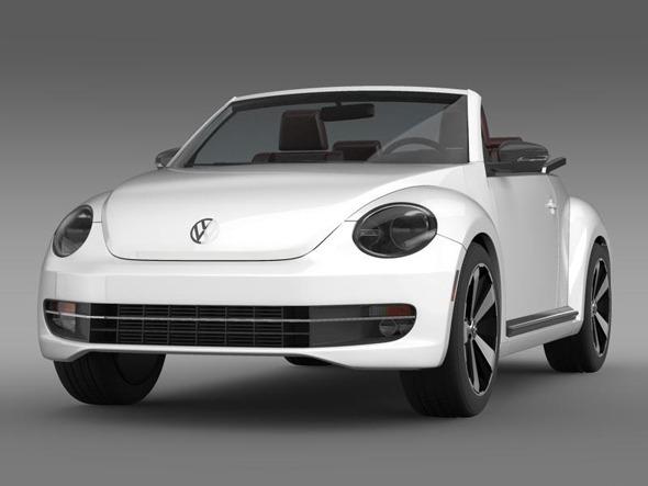 3DOcean VW Beetle Cabrio 3372789
