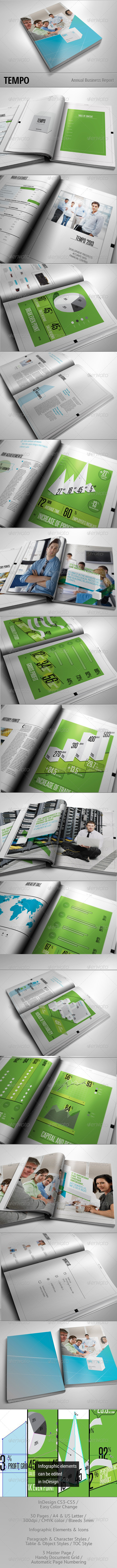 GraphicRiver TEMPO Annual Busines Report 3372792