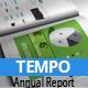 TEMPO - Annual Busines Report - GraphicRiver Item for Sale
