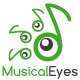 Musical Eyes Logo - GraphicRiver Item for Sale