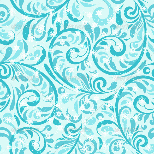GraphicRiver Vector Seamless Winter Pattern 3373292